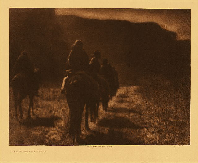 portfolio 1 plate no. 1 Vanishing race - Navaho