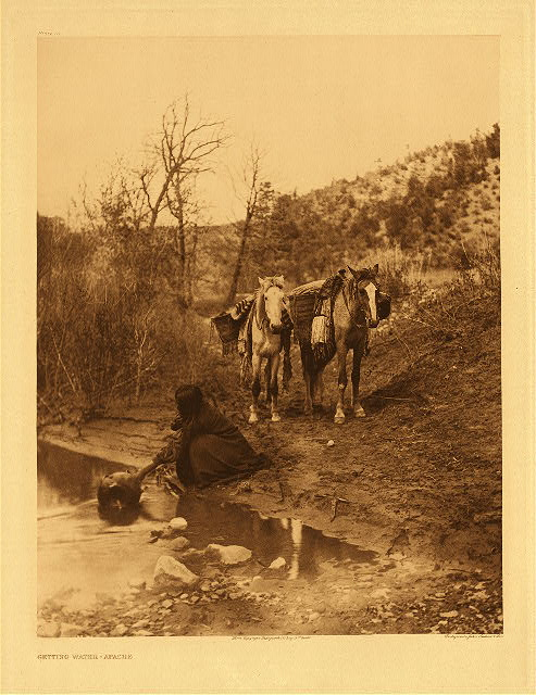 portfolio 1 plate no. 10 Getting water - Apache
