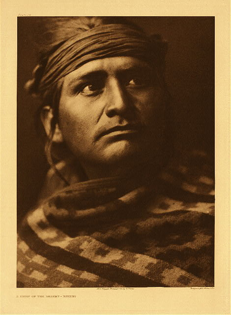 portfolio 1 plate no. 26 Chief of the desert - Navaho