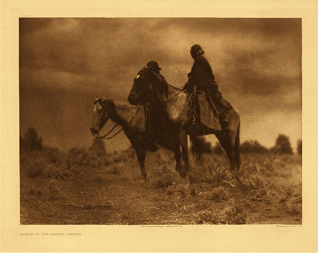 portfolio 1 plate no. 27 Women of the desert - Navaho