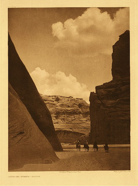 portfolio 1 plate no. 29 Ca&ntilde;on del Muerto - Navaho