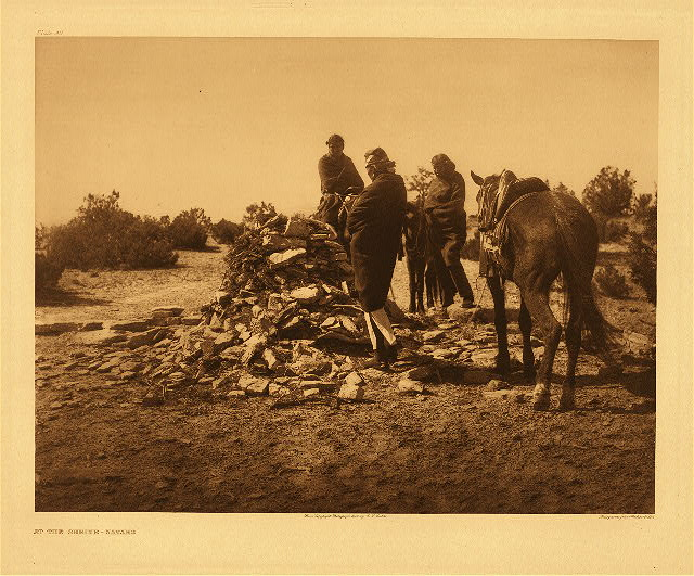 portfolio 1 plate no. 30 At the shrine - Navaho