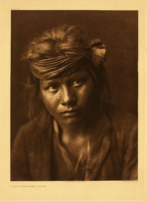 portfolio 1 plate no. 32 Son of the desert - Navaho
