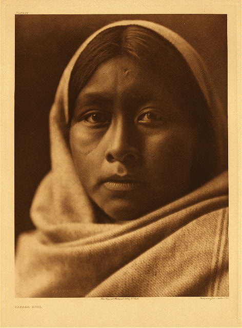 portfolio 2 plate no. 48 Papago girl