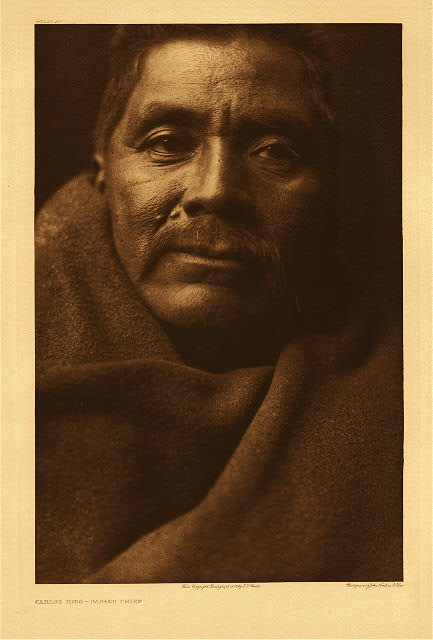 portfolio 2 plate no. 50 Carlos Rios - Papago chief