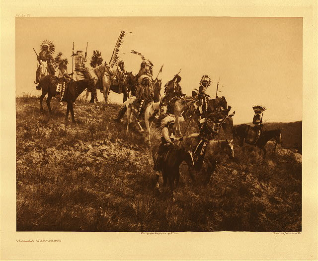 portfolio 3 plate no. 77 Ogalala war-party