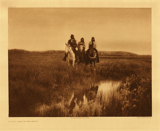 portfolio 3 plate no. 95 In the land of the Sioux