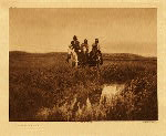portfolio 3 plate no. 95 In the land of the Sioux - photogravure plate