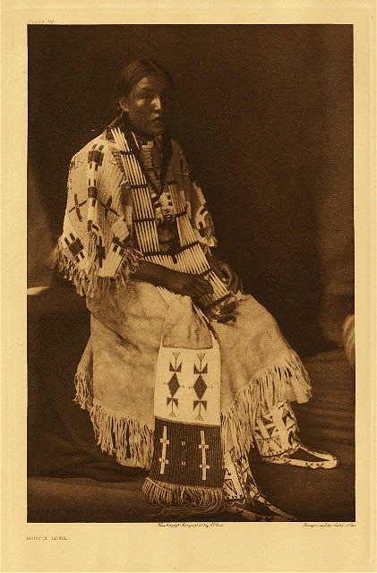 portfolio 3 plate no. 97 Sioux girl