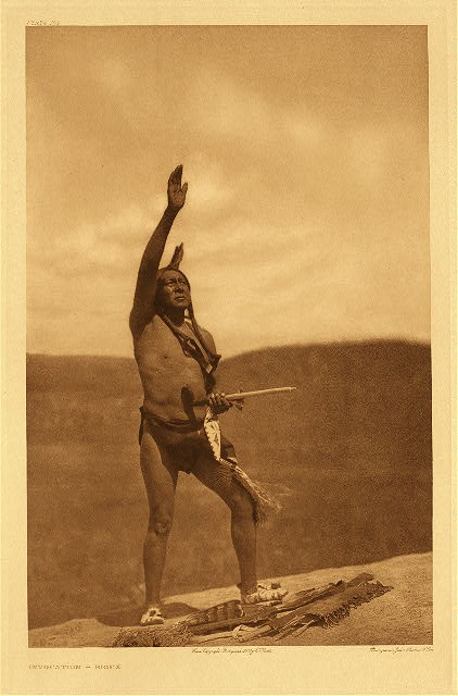 portfolio 3 plate no. 109 Invocation - Sioux