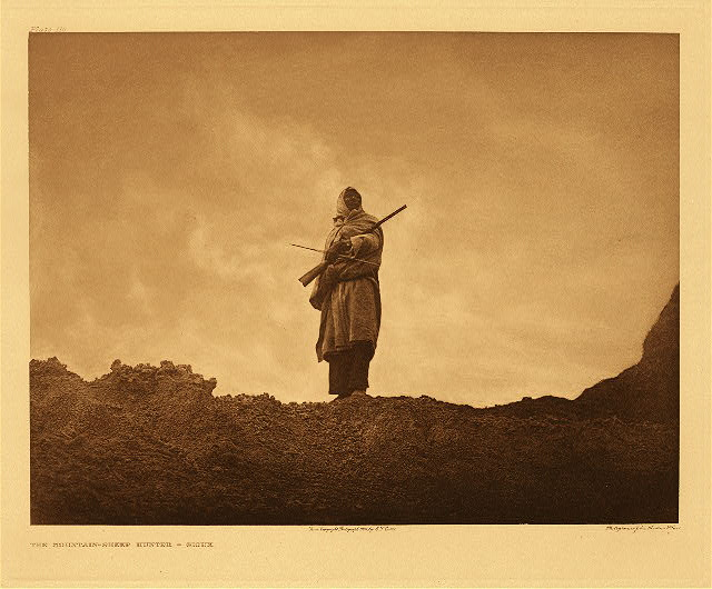 portfolio 3 plate no. 110 Mountain-sheep hunter - Sioux