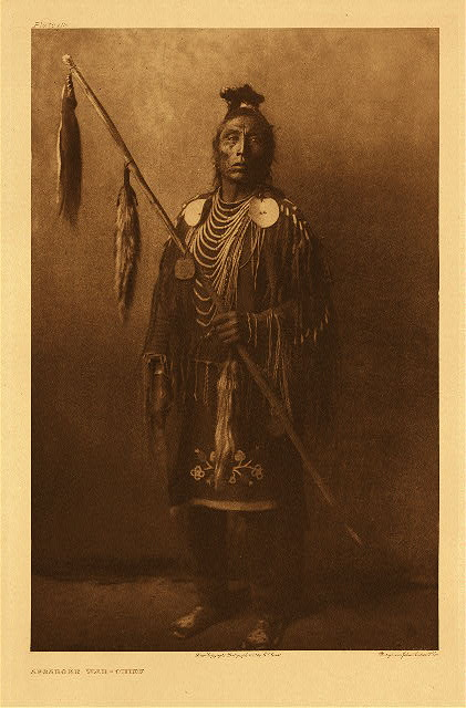 portfolio 4 plate no. 112 Apsaroke war-chief