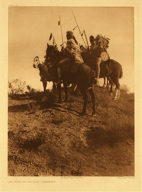 portfolio 4 plate no. 122 Spirit of the past - Apsaroke