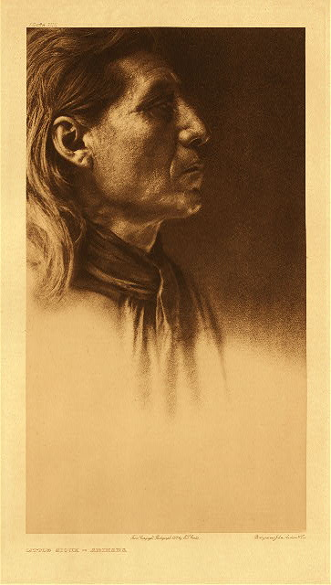 portfolio 5 plate no. 155 Little Sioux – Arikara