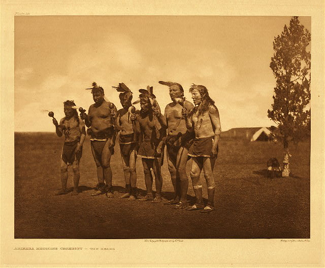 portfolio 5 plate no. 161 Arikara medicine ceremony - The Bears