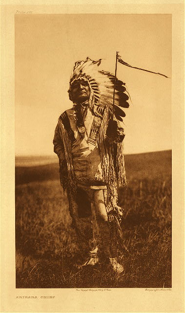 portfolio 5 plate no. 166 Arikara chief
