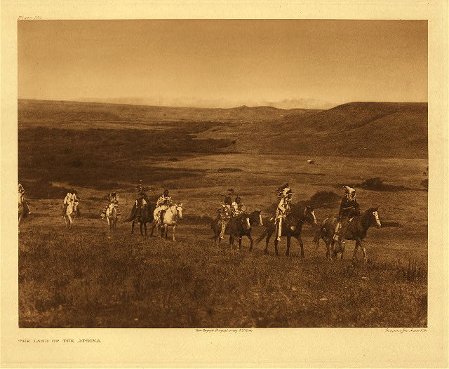 portfolio 5 plate no. 169 Land of the Atsina
