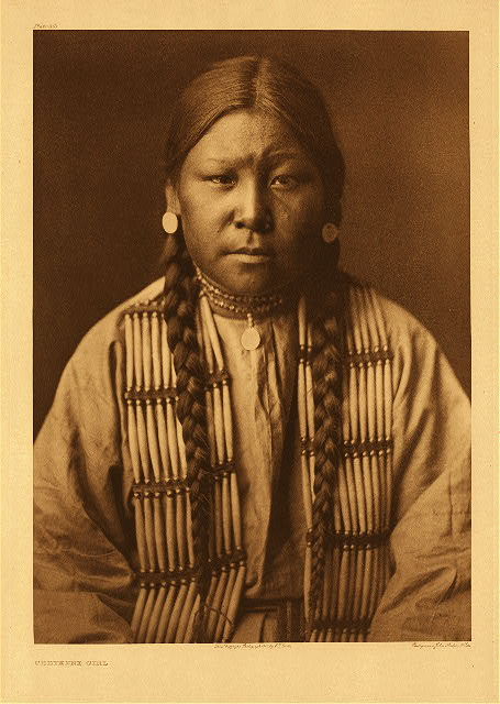 portfolio 6 plate no. 212 Cheyenne girl