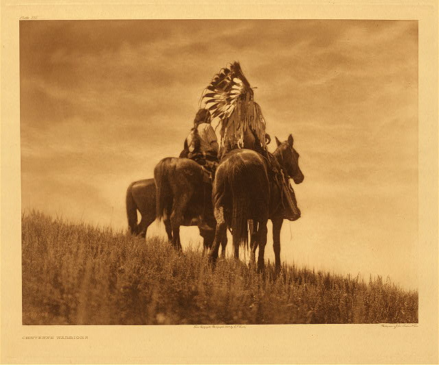 portfolio 6 plate no. 215 Camp in the cottonwoods – Cheyenne