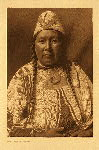 portfolio 7 plate no. 221 Wife of Mnainak – Yakima - photogravure plate