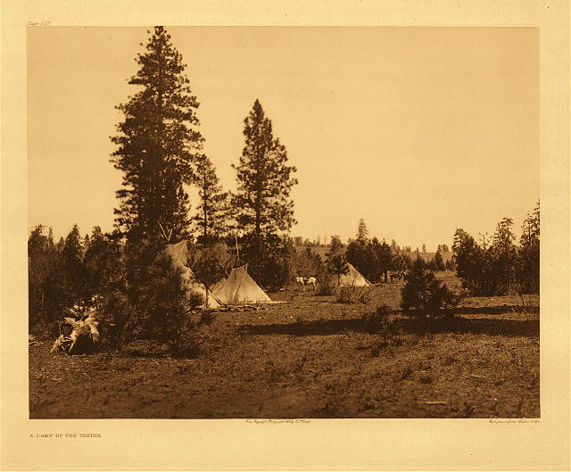 portfolio 7 plate no.223  Camp of the Yakima