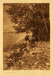 portfolio 7 plate no. 236 By the river – Flathead - photogravure plate