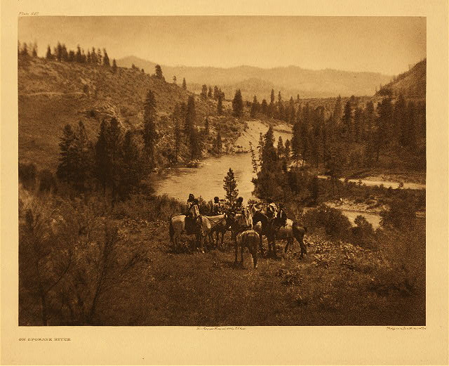 portfolio 7 plate no. 242 On Spokane River