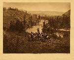 portfolio 7 plate no. 242 On Spokane River - photogravure plate