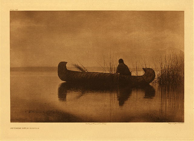 portfolio 7 plate no. 249 Kutenai duck hunter