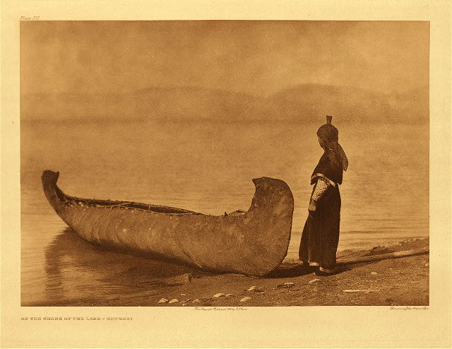 portfolio 7 plate no. 251 On the shore of the lake – Kutenai
