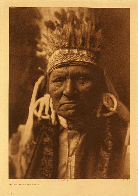 portfolio 8 plate no.257  Yellow Bull - Nez Perce