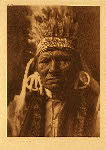 portfolio 8 plate no.257  Yellow Bull - Nez Perce - photogravure plate