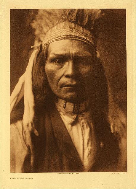 portfolio 8 plate no. 262 Nez Perce warrior