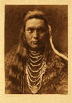 portfolio 8 plate no. 264 Lawyer - Nez Perce - photogravure plate