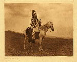 portfolio 8 plate no. 271 War chief - Nez Perce - photogravure plate