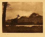 portfolio 8 plate no. 287 Evening on the Columbia - photogravure plate