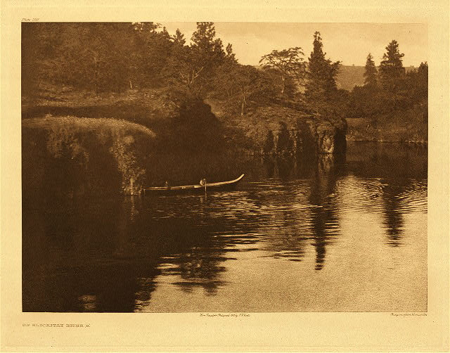 portfolio 8 plate no. 289 On Klickitat River – A