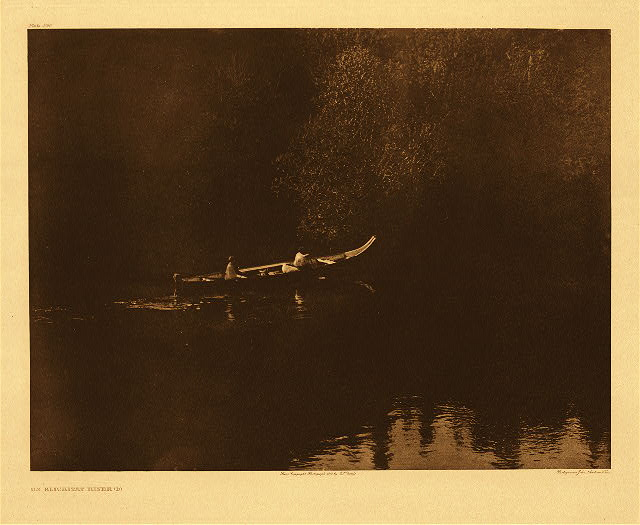 portfolio 8 plate no. 290 On Klickitat River – B