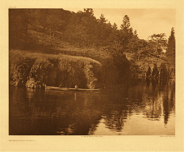 portfolio 8 plate no. 291 On Klickitat River – C
