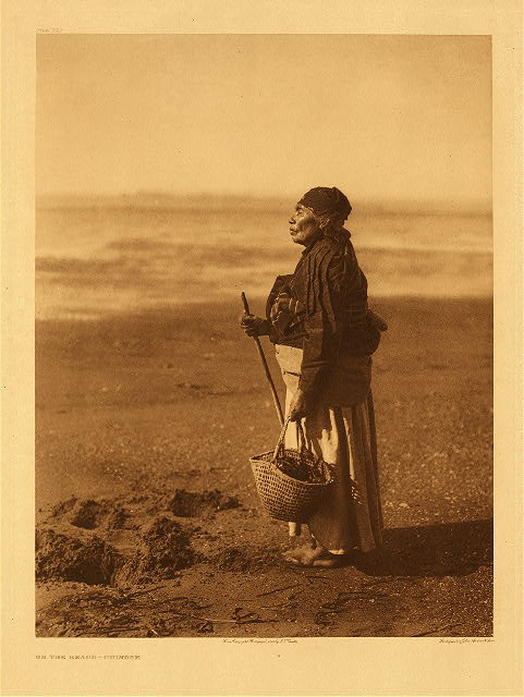 portfolio 8 plate no. 292 On the beach – Chinook