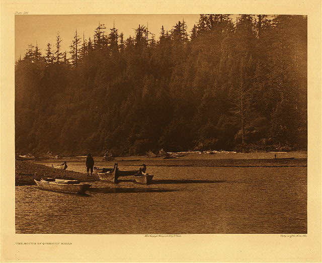 portfolio 9 plate no. 296 Mouth of Quinault River