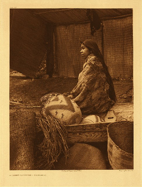 portfolio 9 plate no. 300 Chief's daughter &ndash; Skokomish