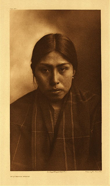 portfolio 9 plate no. 305 Suquamish woman