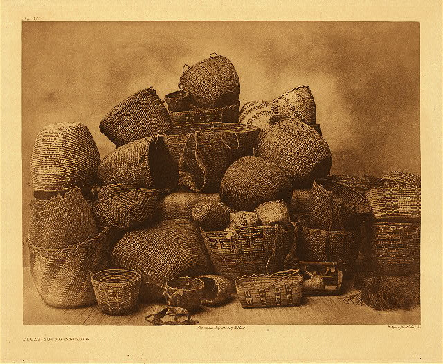portfolio 9 plate no. 309 Puget Sound baskets