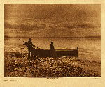 portfolio 9 plate no. 312 Evening on Puget Sound - photogravure plate