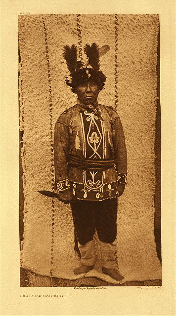portfolio 9 plate no. 322 Cowichan warrior