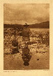 portfolio 10 plate no. 339 On the beach – Nakoaktokk - photogravure plate
