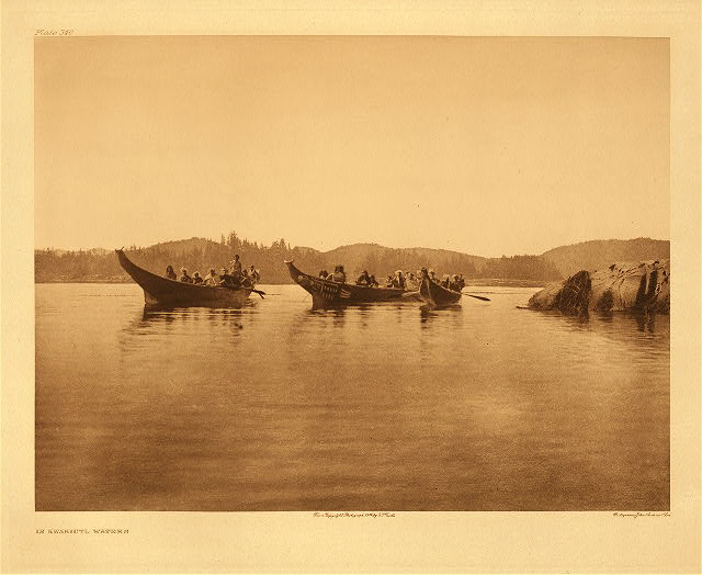 portfolio 10 plate no. 340 In Kwakiutl waters