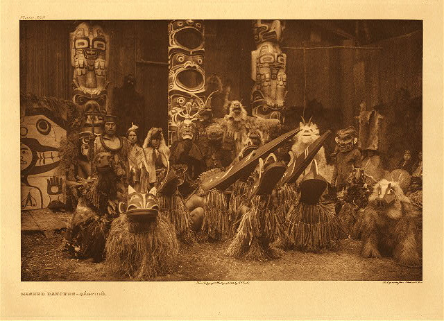 portfolio 10 plate no. 358 Masked dancers &ndash; Qagyuhl