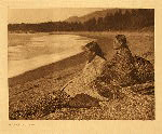 portfolio 11 plate no. 366 Shores of Nootka Sound - photogravure plate